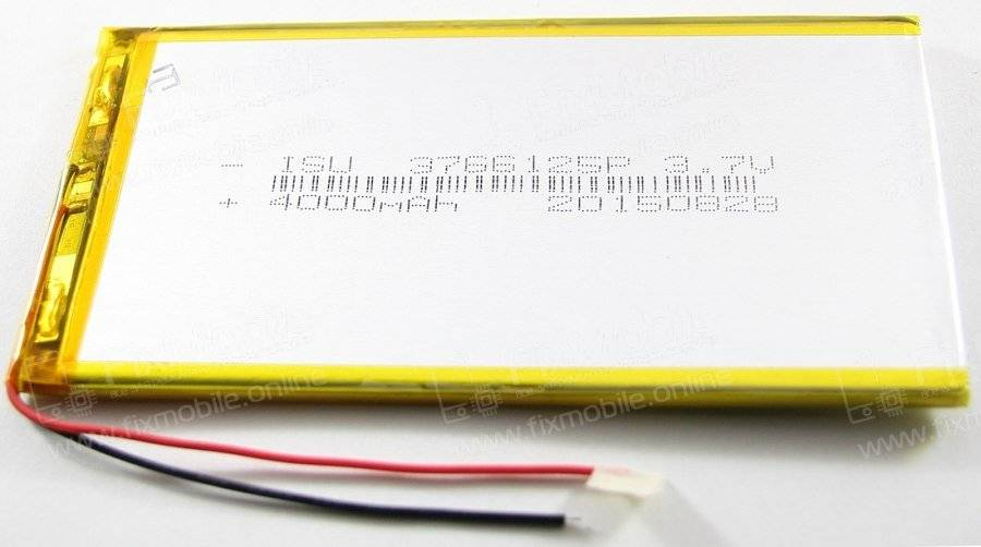 Аккумуляторная батарея универсальная 3766125p (3.7*66*125 мм)