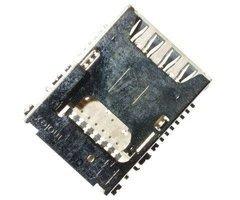 Коннектор SIM+MMC для LG G3s (D724) — 1